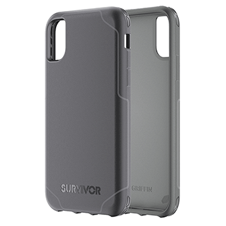 Apple iPhone X Griffin Survivor Strong Case - Black