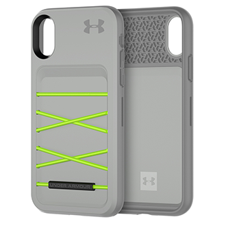 Apple iPhone X Under Armour Arsenal Case - Grey/green