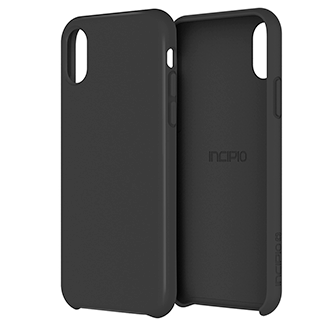 Apple iPhone X Incipio Siliskin Case - Black