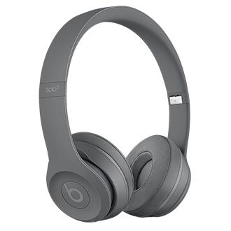 Beats Solo3 Wireless Headphones - Neighborhood Collection - Asphalt Grey