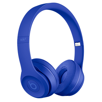 Beats Solo3 Wireless Headphones - Neighborhood Collection - Break Blue