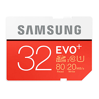 Samsung Evo Plus 32gb Microsd Memory Card W/adapter
