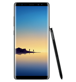 Galaxy Note8 - Midnight Black - 64gb