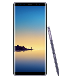 Galaxy Note8 - Orchid Gray - 64gb
