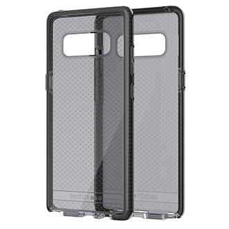 Samsung Galaxy Note8 Tech21 Evo Check Case - Smoke/black