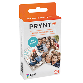 Prynt Pocket Paper Pack (40 Sheets)