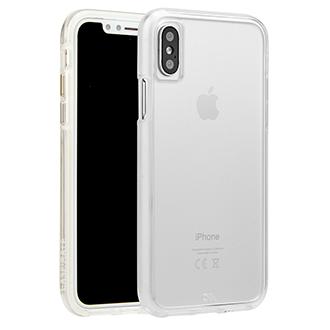 Apple iPhone X Case-Matetough Clear Case - Clear
