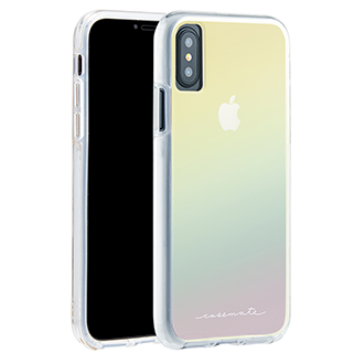 Apple iPhone X Case-Mate Naked Tough Case - Iridescent