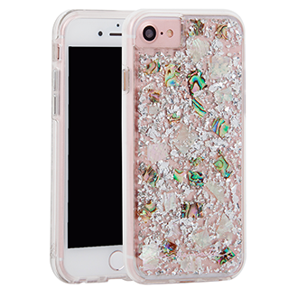 Apple iPhone 7/8 Case-Mate Karat Case - Pearl