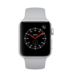 Watch Series 3 42mm - Silver - Fog Band