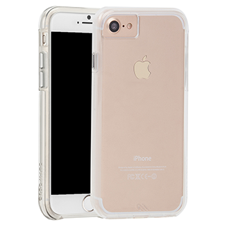 Apple iPhone 7/8 Case-Matetough Clear Case - Clear