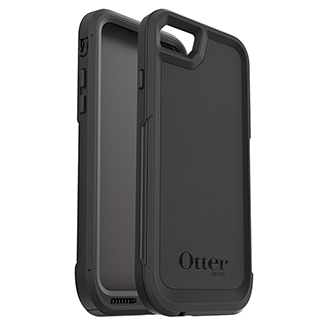 Apple iPhone 7/8 And Otterbox Pursuit Series Case - Black
