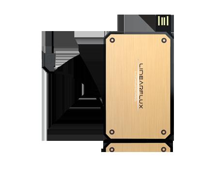 LinearFlux LithiumCard 1200mAh - Micro USB