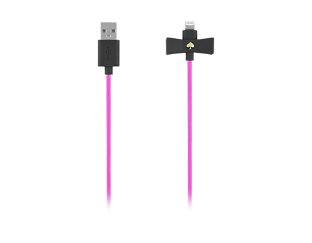 kate spade new york Bow Lightning Charging Cable