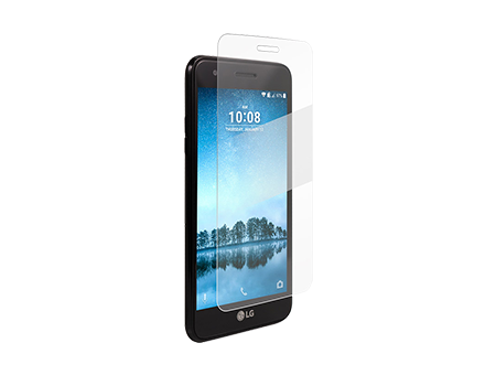 BodyGuardz Pure2 Tempered Glass Screen Protector - LG Phoenix 3