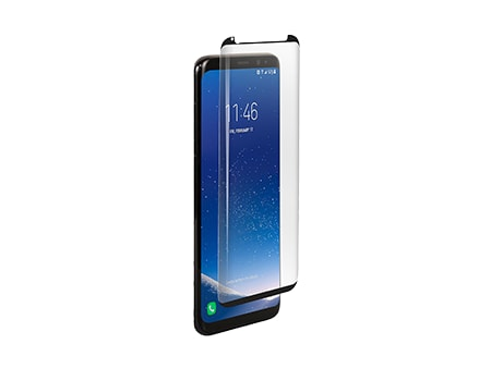 BodyGuardz Pure Arc Tempered Glass Curved Screen Protector - Samsung Galaxy S8+