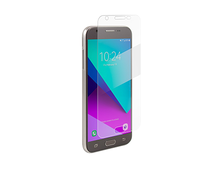 BodyGuardz Pure 2 Tempered Glass Screen Protector - Samsung J3 (2017)/Samsung Galaxy Express Prime 2