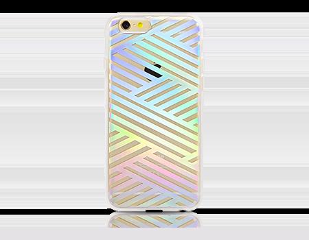 Sonix Criss Cross Rainbow ClearCoat Case - iPhone 6/6s