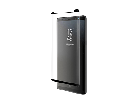 BodyGuardz Pure Arc Curved Tempered Glass Screen Protector - Samsung Galaxy Note8