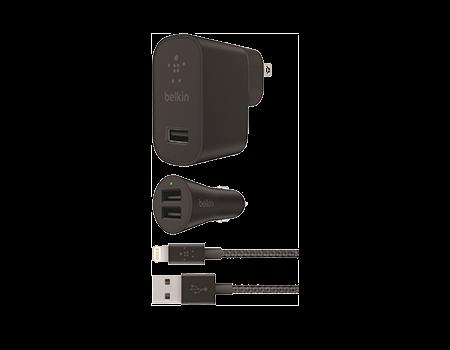 Belkin Metallic Dual Lightning Bundle