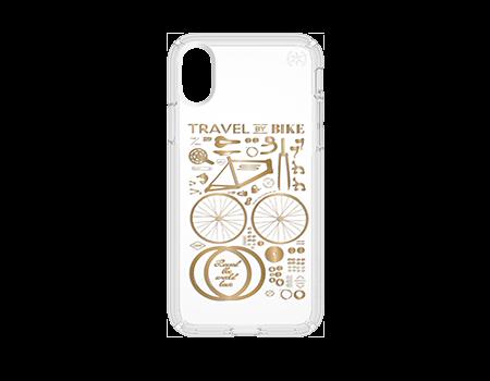 Speck CityBike Metallic Presidio Case with Print - iPhone X