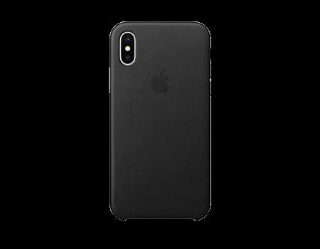 Apple Leather Case - iPhone X