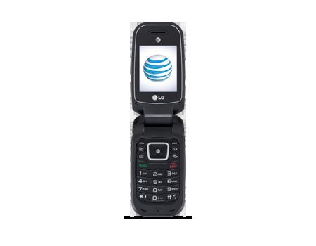LG B470 - AT & T PREPAID - Black