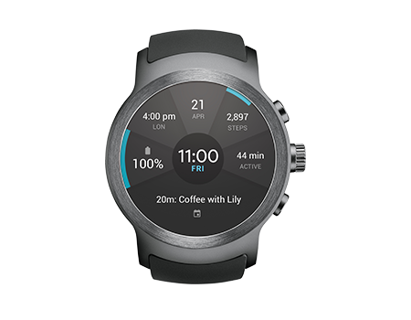 LG Watch Sport - Titan Silver