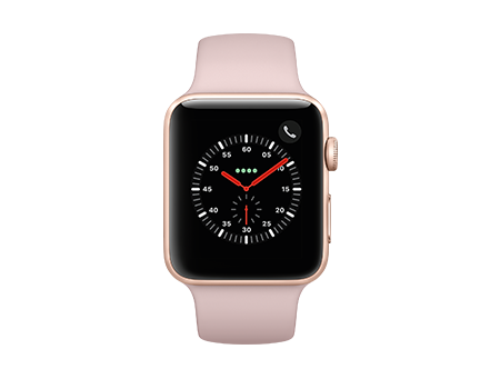 Apple Watch Series 3 - 42mm - Gold Aluminum - Pink Sand Sport