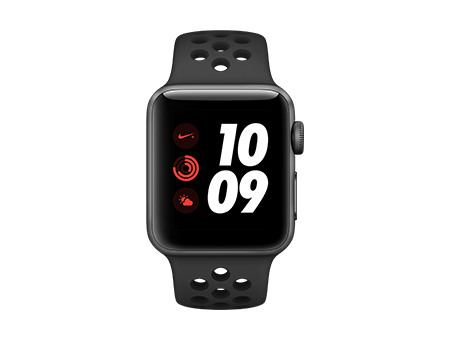 Apple Watch Series 3 Nike+ - 38mm - Space Gray Aluminum - Anthracite Sport