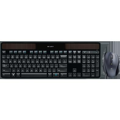 Wireless Solar Keyboard K750 for Mac & Marathon Mouse M705 Bundle
