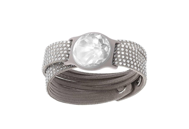 Swarovski Shine Slake Bracelet In Gray