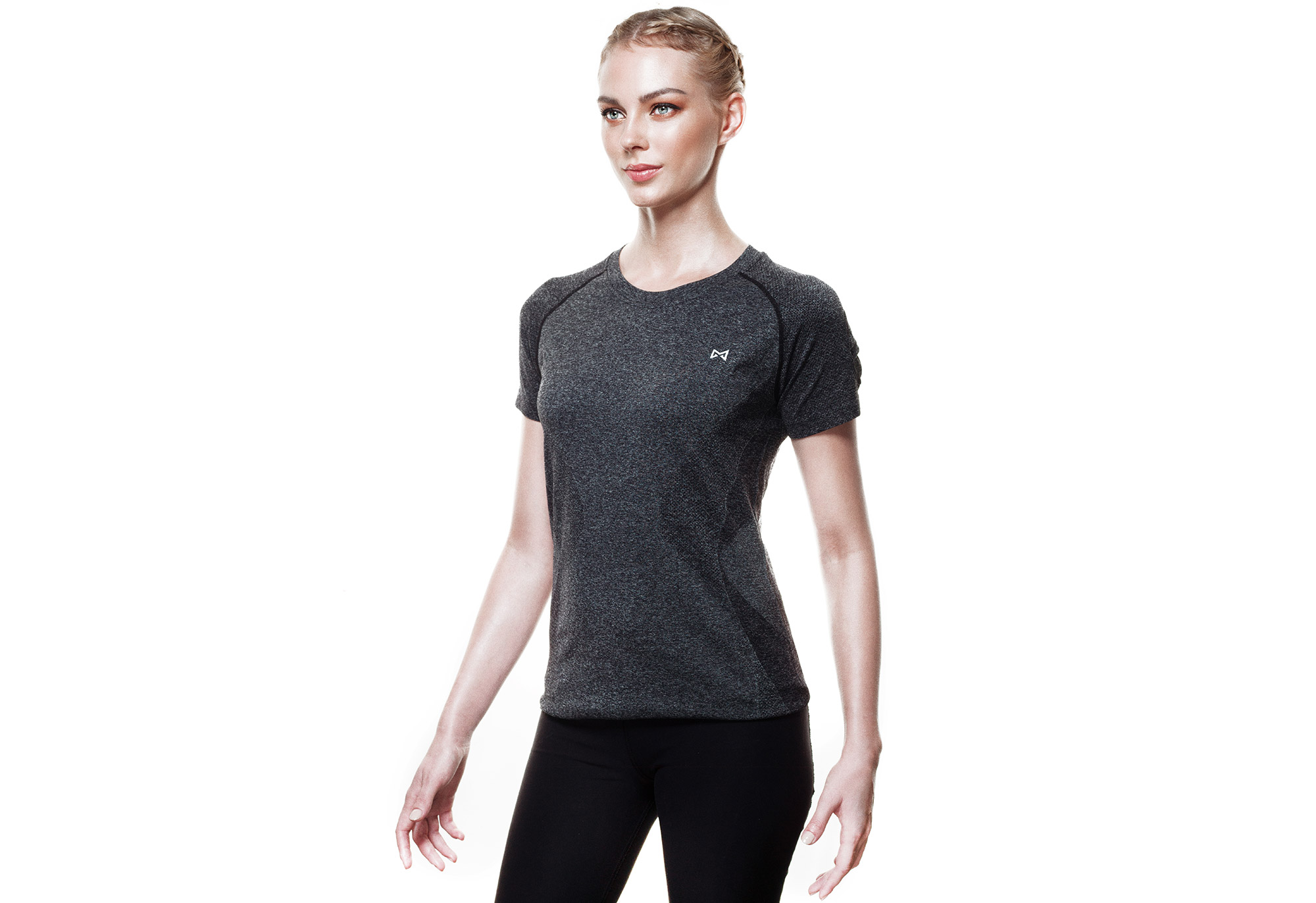 Technical Tee-Grey-Women-L