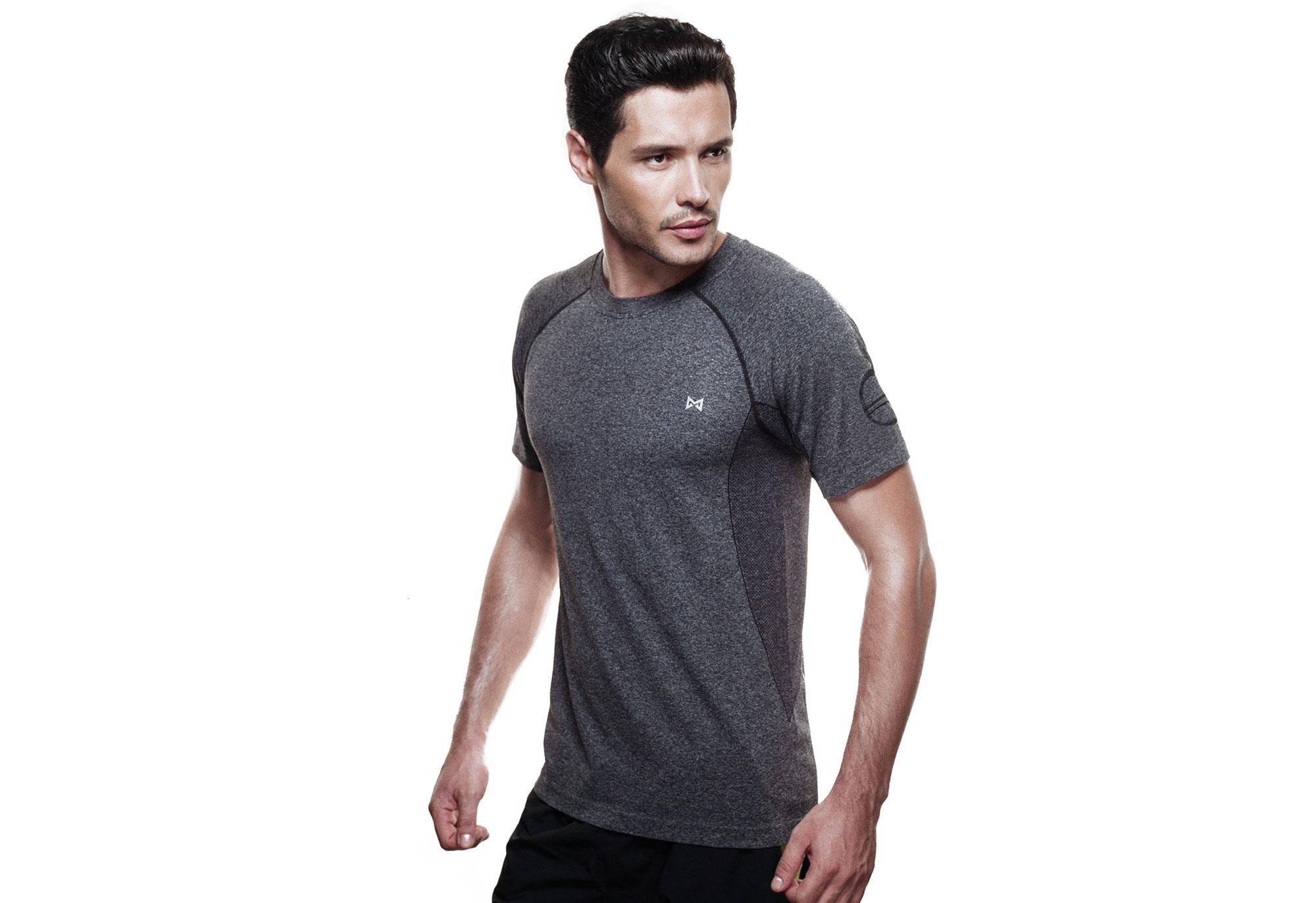Technical Tee-Grey-Men-XL