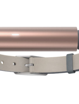 Misfit Ray Fitness & Sleep Tracker + Leather Band (Rose Gold)