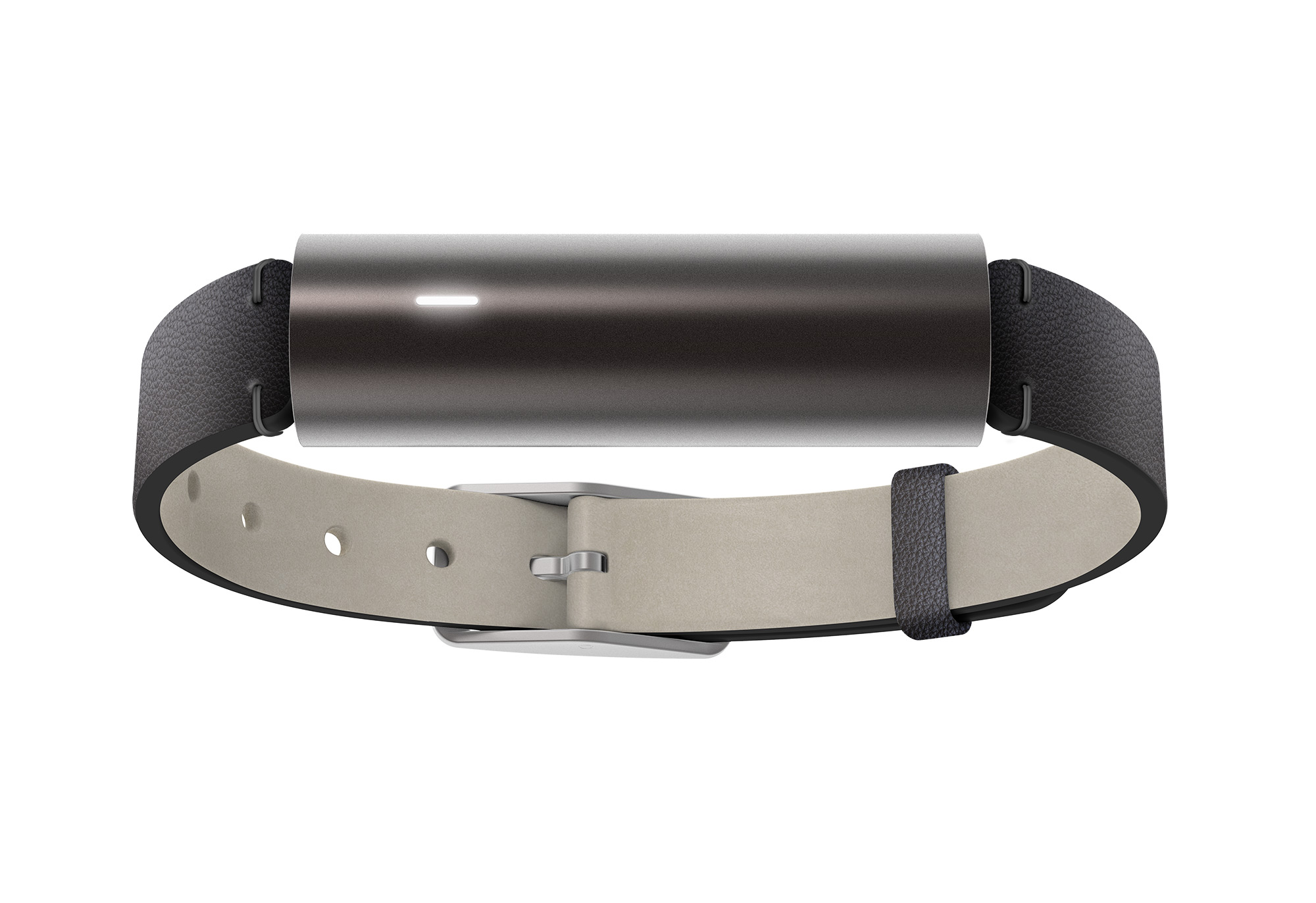 Misfit Ray Fitness & Sleep Tracker + Leather Band (Carbon Black)