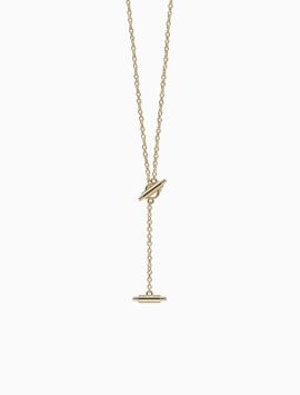 Lariat Necklace for Misfit Ray (Gold)
