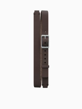 Double Wrap Leather Band for Misfit Ray (Brown)