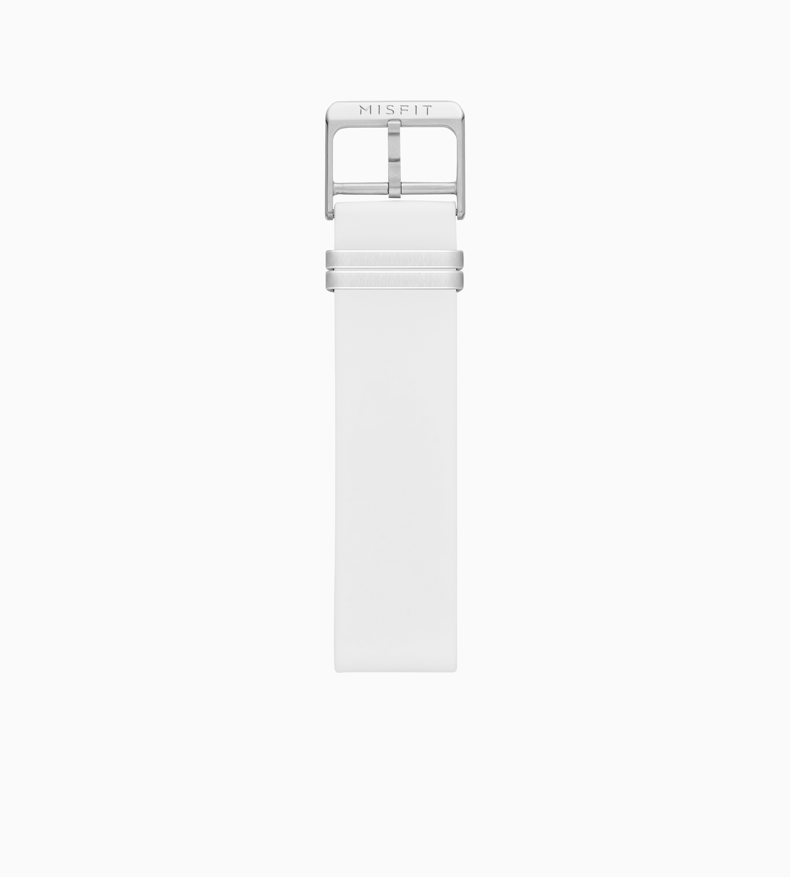 Silicone Band for Misfit Phase (White)