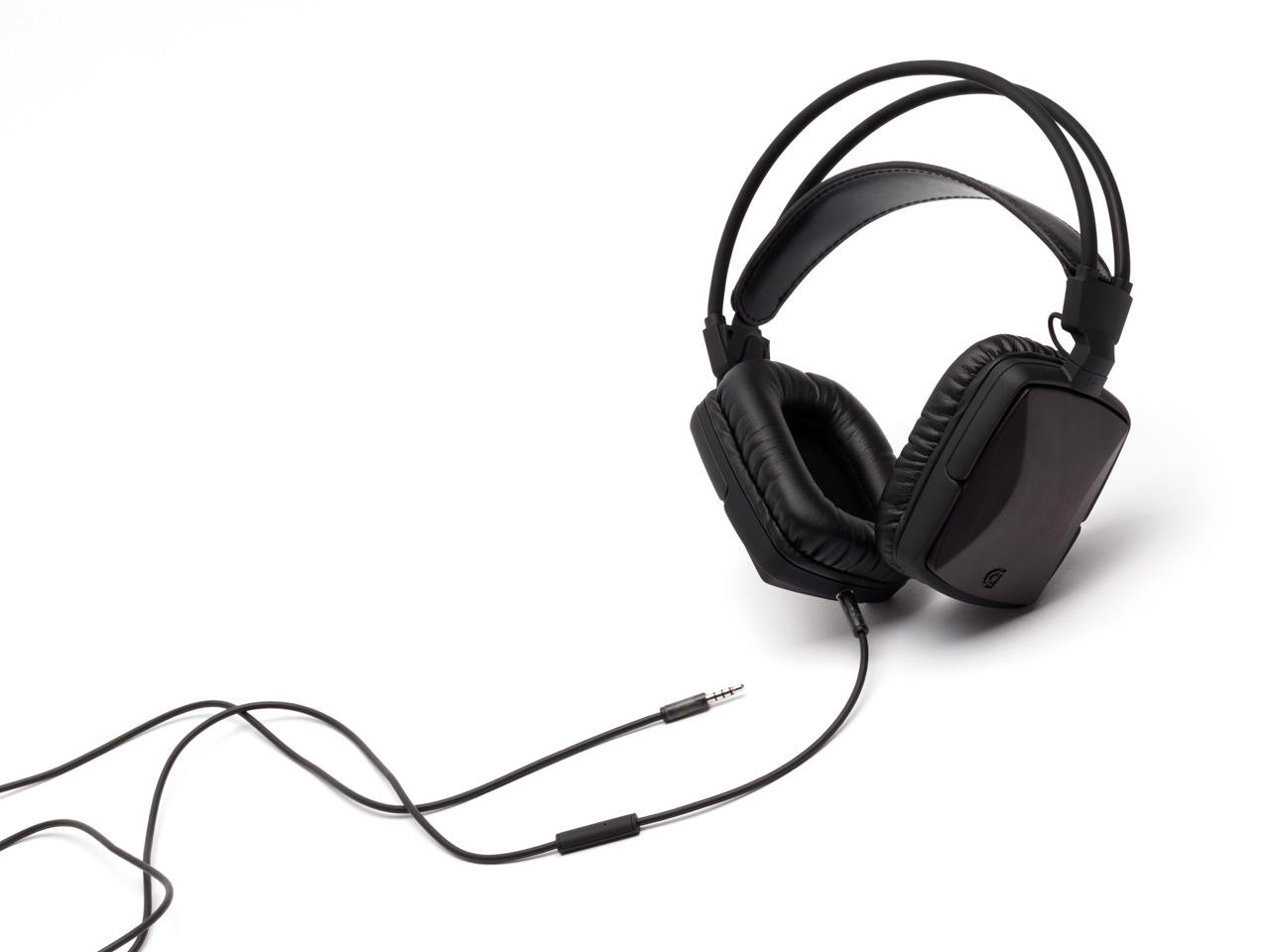 Walnut WoodTones Over-The-Ear Headphones