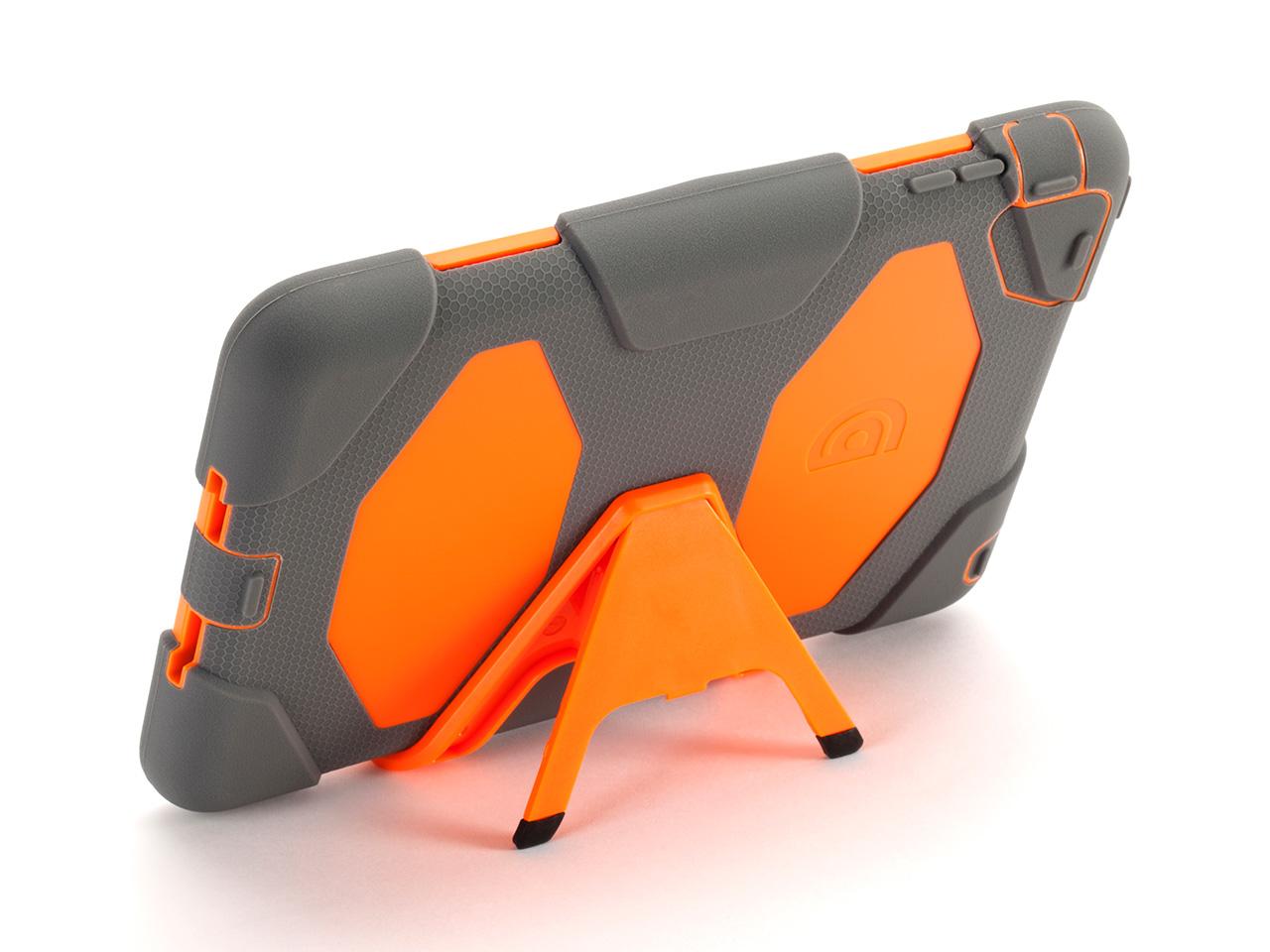 Grey/Orange Survivor All-Terrain Case for iPad mini