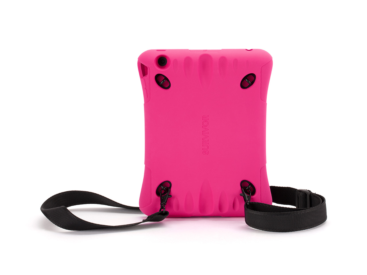 Hot Pink Survivor Play Protective Case for iPad mini