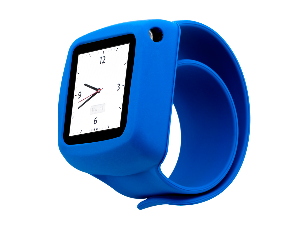 Blue Slap Bracelet Case for iPod nano (6th gen.)