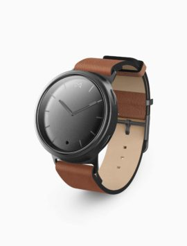 Misfit Phase Hybrid Smartwatch (Black & Oak)