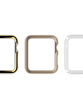3 Pack Ultra Thin Protective Cases for Apple Watch 42mm