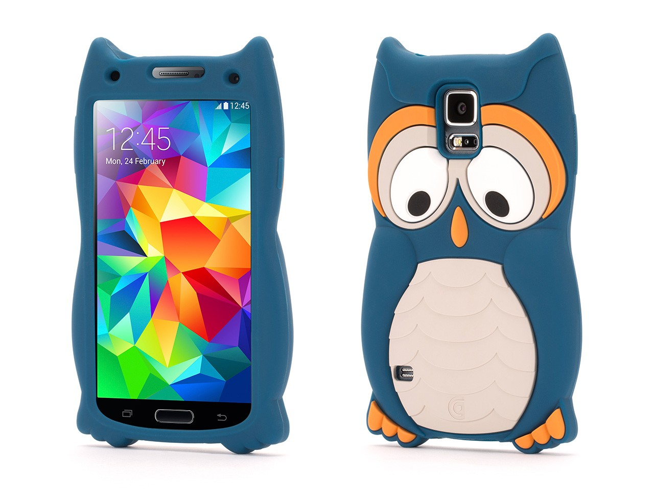 Samsung Galaxy S5 Protective Case KaZoo Protective Animal Case -Owl