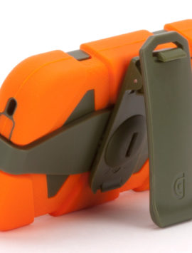 Blaze Orange/Olive Heavy Duty Survivor Case for iPhone 4/4s