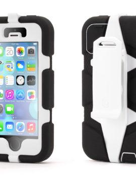 Black/White Survivor All-Terrain Case for iPhone 5/5s