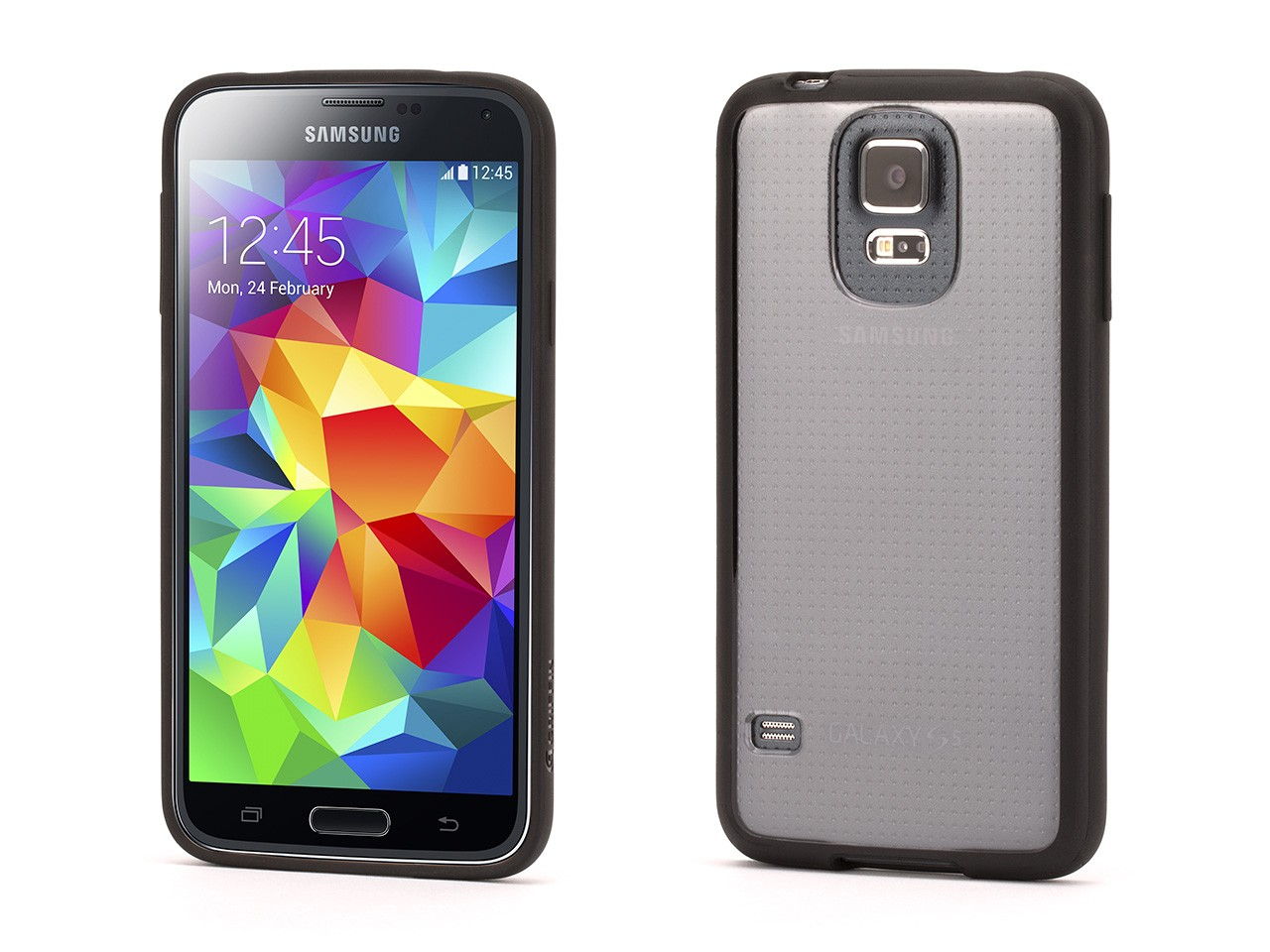 Galaxy S5 Clear Protective Case