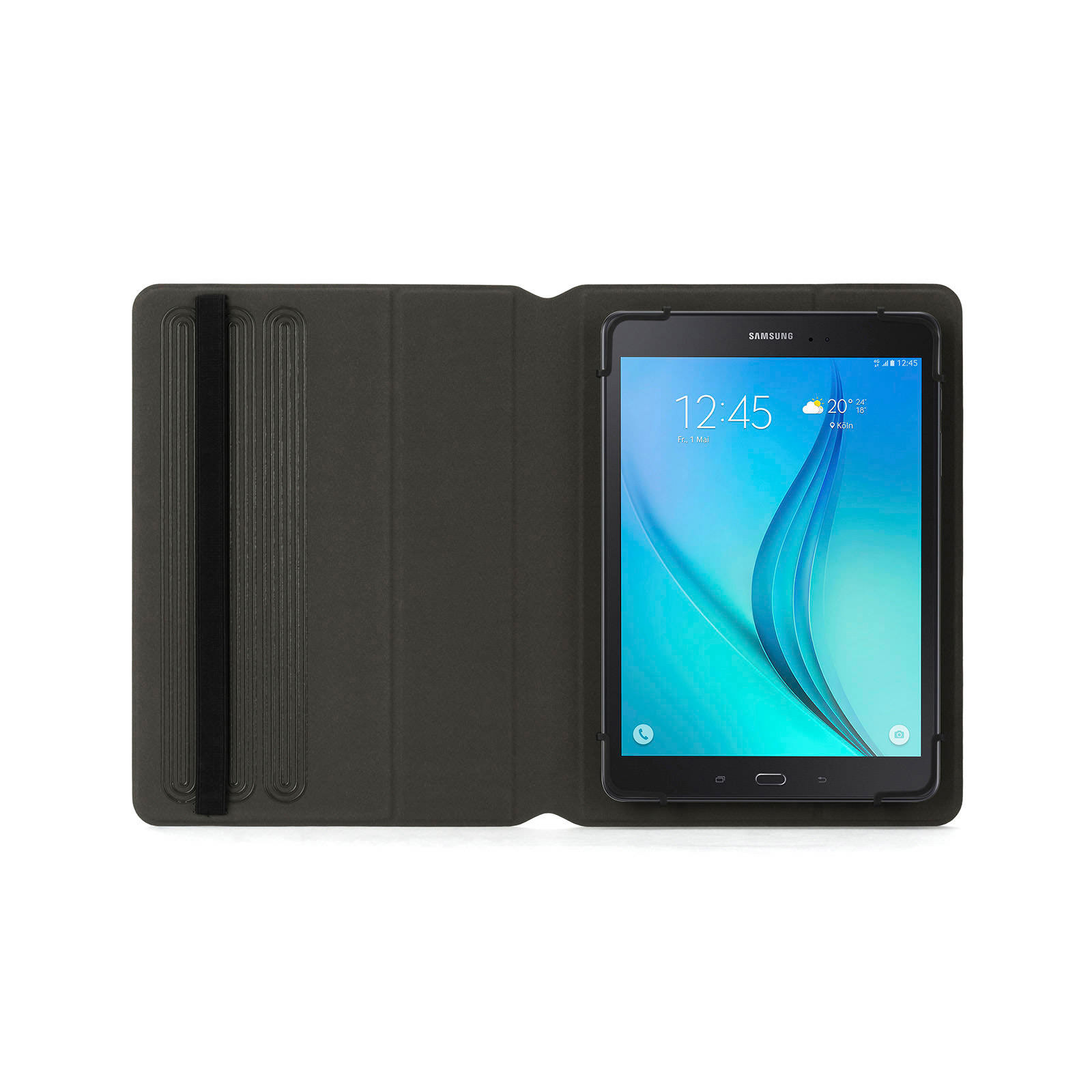 Snapbook Universal Protective Stand-up Folio for large and extra-large tablets